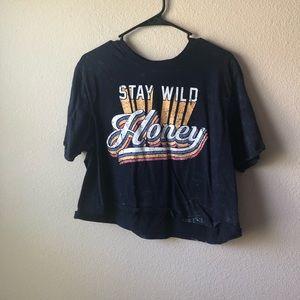 """Tops - """"Stay Wild Honey"""" crop top"""